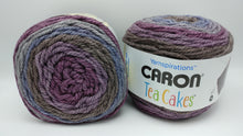 Load image into Gallery viewer, WINTERBERRY Caron TEA Cakes Yarn  - Big 8.5oz/240g - 204 yds/186m - 80/20 Acrylic/Wool - #6 Super Bulky