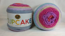 Load image into Gallery viewer, CHERRY BLOSSOM - Cupcake Yarn by Lion Brand - #3 DK Light Worsted  - 5.3 oz / 590yd - Pinks, Purple, Cream, Blue 935-217
