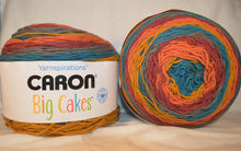 Load image into Gallery viewer, TOFFEE BRICKLE Caron BIG Cakes Yarn -  Big 10.3oz / 603 yards