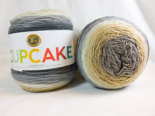 Load image into Gallery viewer, COFFEE BREAK - Cupcake Yarn by Lion Brand - #3 DK Light Worsted  - 5.3 oz / 590yd - Brown, Cream, Gray, Beige 935-220