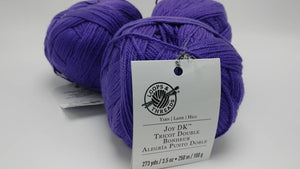 IRIS Colorway of DK Joy Yarn Balls by Loops & Threads - #3 Light  3.5oz/100g - 273 Yds/250m - Anti-pilling Acrylic, Incredibly Soft!