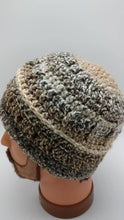 Load image into Gallery viewer, HAZELNUT COFFEE BEANie Hat Designed for Men but is also Unisex - 100% Soft Acrylic to keep your head warm - Machine Washable