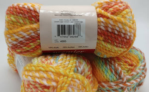 LINCOLN LOGS Toy Box Yarn - Premier Yarns - 3.5 oz / 109 yards  - Bulky #5 2-Ply Acrylic - Great for Making Baby Blankets FAST!