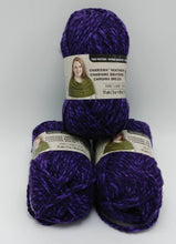 Load image into Gallery viewer, PURPLE Colorway in Charisma Heather Yarn by Loops & Threads - Bulky #5 - 93 yds / 3 oz -Acrylic - Mix of Dark and Medium Violet Purple