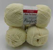 Load image into Gallery viewer, BUTTER Chenille Parfait Yarn by Premier Yarns - #5 Bulky weight - 3.5oz/100g  192yds/175m - Thick & Cozy 100% Incredibly SOFT Polyester