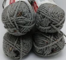 Load image into Gallery viewer, IRON Gray Serenity Chunky Tweed by Premier Yarns - #5 Bulky - 3.5oz/100g  109yds/100m - 97/3% Acrylic / Viscose - Makes Great Sweaters