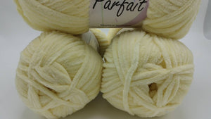 BUTTER Chenille Parfait Yarn by Premier Yarns - #5 Bulky weight - 3.5oz/100g  192yds/175m - Thick & Cozy 100% Incredibly SOFT Polyester