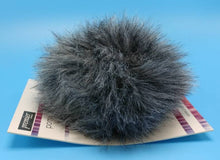 Load image into Gallery viewer, KOALA Gray Faux Fur Pom Poms by Premier Yarns - Acrylic/Polyester - Large ~ Adds a Finishing Touch to your Hat, Scarf Ends, or Blanket!