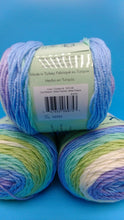 Load image into Gallery viewer, COOL BREEZE Colorway DK Colors Anti-pilling by Premier Yarns - #3 Light  5oz/140g -383 Yds/350m - Purple Blue Teal Green White Super Soft-