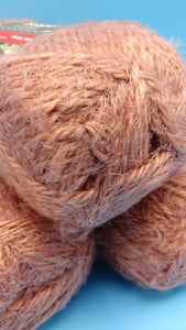 RUST HYGGE (Hoo-gah) Yarn by Red Heart - #5 Bulky  - 5oz / 132yds - 70/30 Acrylic/Nylon - SOFT! Solid - Would make an Awesome Sweater