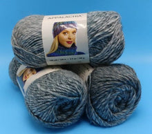 Load image into Gallery viewer, WHITESBURG APPALACHIA Yarn - Premier Yarns - Bulky #5 - 140 yds/ 3.5 oz - Acrylic & Soft Alpaca - Self-Striping Colors: Grays Blue Green