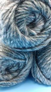 WHITESBURG APPALACHIA Yarn - Premier Yarns - Bulky #5 - 140 yds/ 3.5 oz - Acrylic & Soft Alpaca - Self-Striping Colors: Grays Blue Green