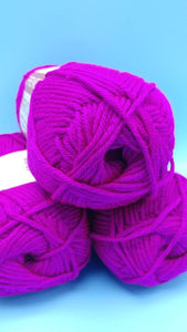BRIGHT VIOLET Premier Anti-Pilling Everyday Soft Worsted Yarn - #4 Worsted - 203 yds / 4 oz - 100% Acrylic - Makes Great Blankets Sweaters