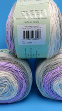 Load image into Gallery viewer, TEACUP Colorway DK Colors Anti-pilling by Premier Yarns - #3 Light  5oz/140g -383 Yds/350m - Purples Cream Grays Blue - Make a Baby Blanket!
