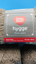 Load image into Gallery viewer, LATTE HYGGE (Hoo-gah) Yarn by Red Heart - #5 Bulky  - 5oz / 132yds - 70/30 Acrylic/Nylon - SOFT! Solid Brown - Would make an Awesome Sweater