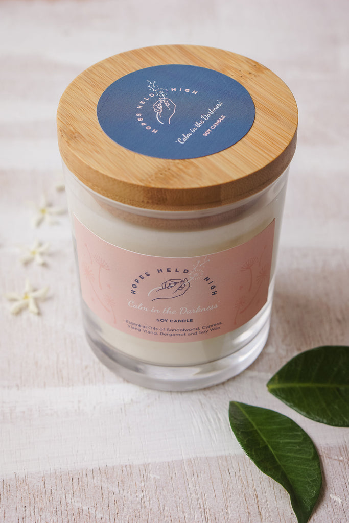 Fertility Hope Candle - 'Calm in the Darkness'