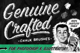 Genuine Crafted Chalk Brushes