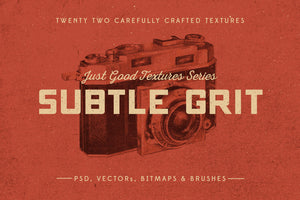 Just Good Textures – Subtle Grit