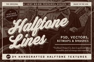 Just Good Textures – Halftone Lines