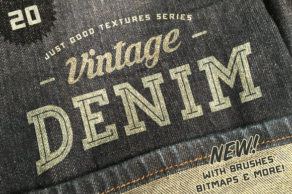 Just Good Textures – Vintage Denim