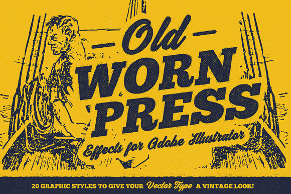 Old Worn Press – Illustrator Styles