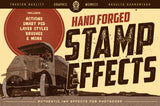 Hand Forged Stamp Effects