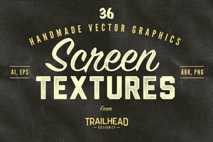 Thirty-Six Vector Screen Textures