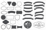The Vintage Vector Badge Kit