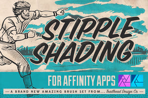 Stipple Shading Brushes for Affinity