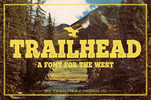 Trailhead – A Font for The West