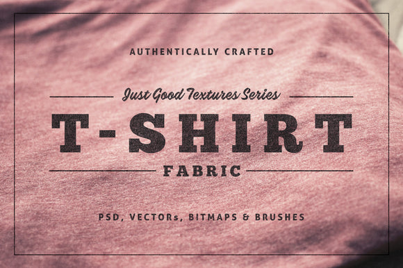 Just Good Textures - T-Shirt Fabric