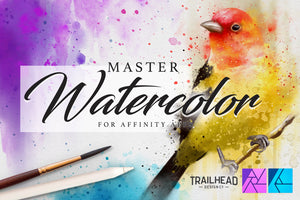 Master Watercolor Affinity Brushes