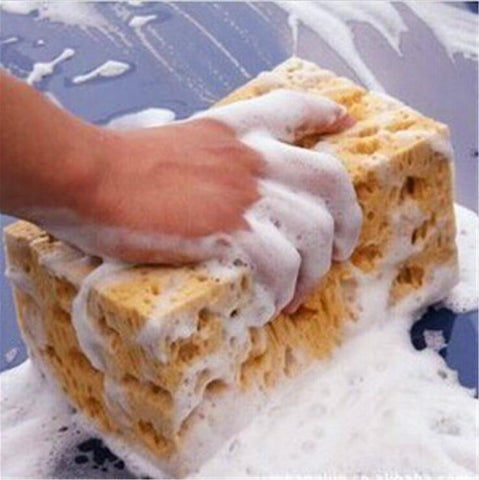 Good Quality Yellow Car Auto Washing Cleaning Sponge Block Auto Wash Cleaner Automobile Accessory  Wh
