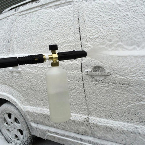 New High Pressure 1000ML Car Washer Foam Gun Kettle Lance Snow Foamer Water Gun Car Cleaning Gun Auto Washing Tool Hot Selling