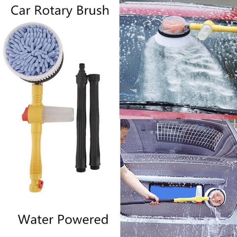 Vehemo 3 Hydraulic Levels Car Wash Brush Automatic Rotation Foam Washer Car Cleaning Washing Spone High Pressure Free Shipping