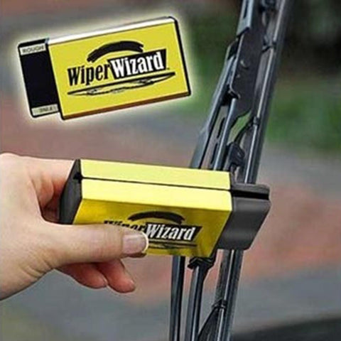 Wiper Wizard Car Windshield Wiper Blade Restorer Vehicle Windshield Wiper Blade Cleaning Tool