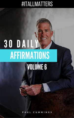 It All Matters Affirmation Toolkit Volume 6