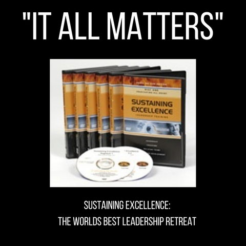 Sustaining Excellence Training System (includes CD's, a leader's guide and workbooks)