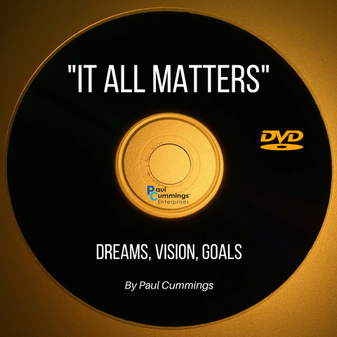 Dreams, Vision, Goals DVD