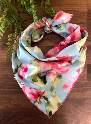 watercolor Whimsy Dog Neckerchief