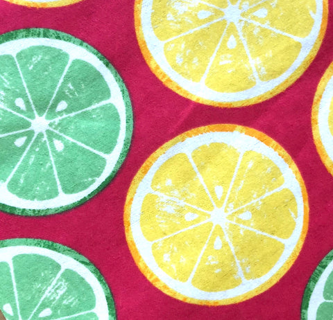 Neon Citrus Dog Neckerchief