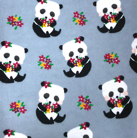 Panda Hugs Dog Neckerchief