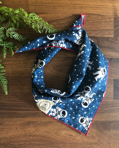 American Space Man Dog Neckerchief