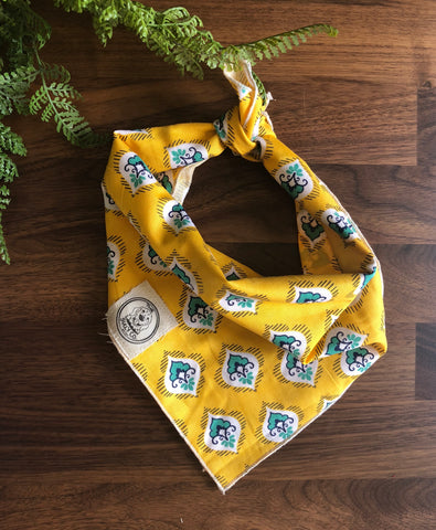 Pineapple Dreams Dog Neckerchief