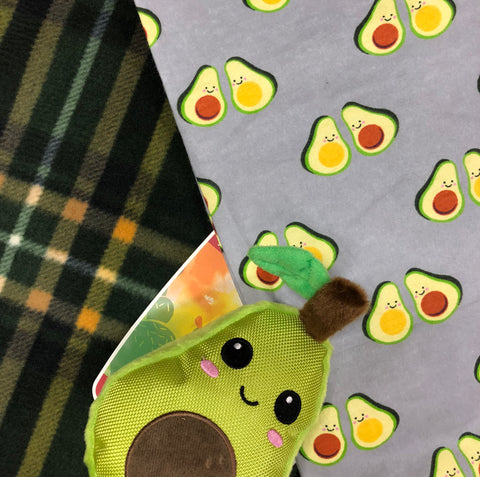 Avocado Snuggle Throw