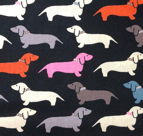 Polka Dot Doxies Dog Neckerchief