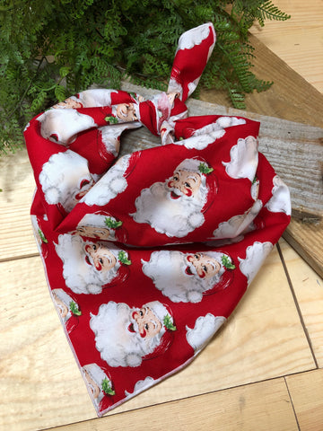 Classic Santa  Dog Neckerchief
