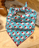 Santa for Days Dog Neckerchief