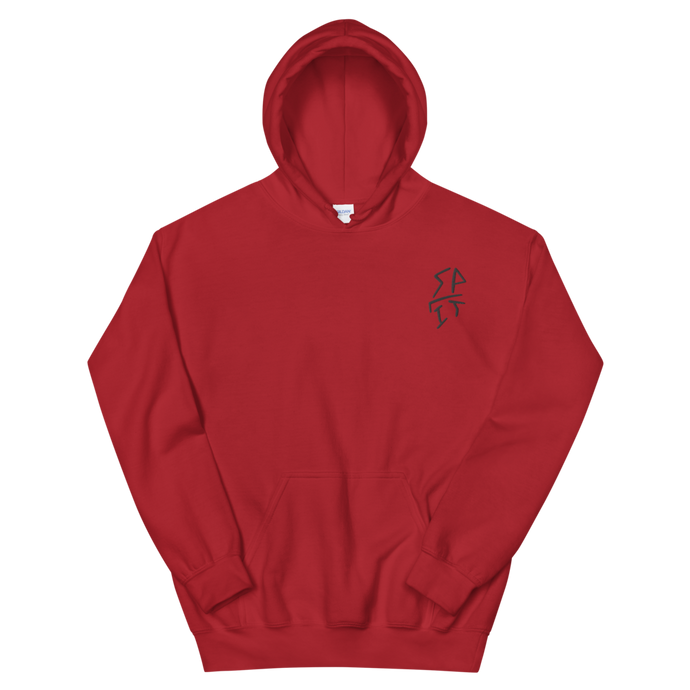 Drawn Hooded Sweatshirt