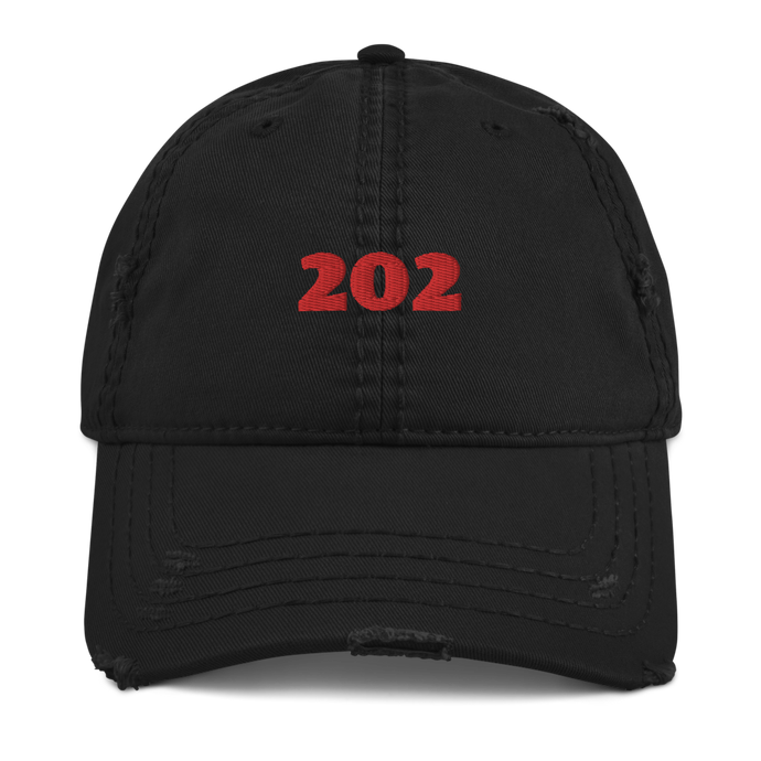 202 Distressed Dad Hat